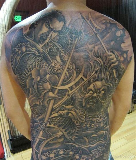 tattoo back warrior warrior tattoos tattoo designs tattoo pictures page 3