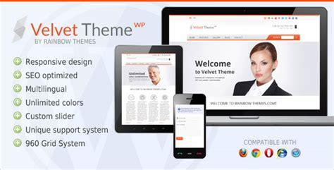 themelock wordpress velvet clean responsive themeforest wordpress theme