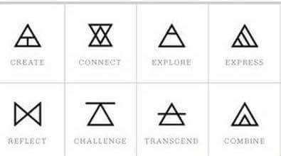 what does a triangle tattoo mean what is a black triangle quora