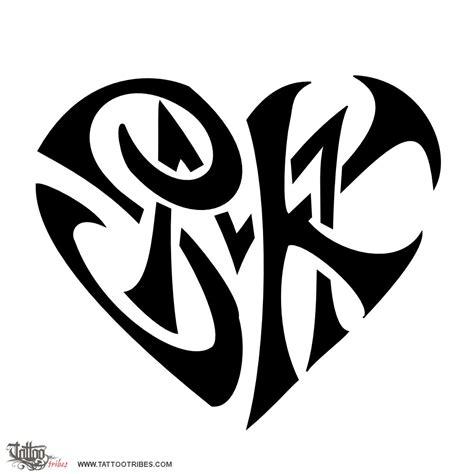 lettere tribali of s m k union custom