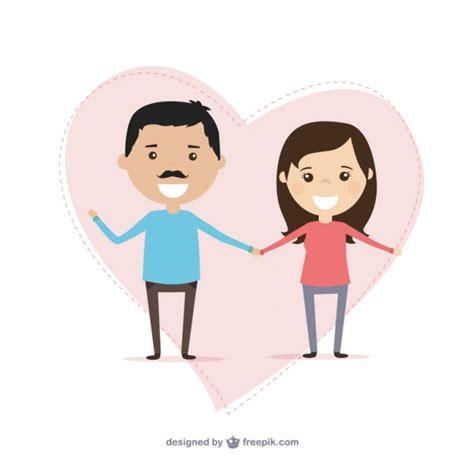 hombre de dibujos animados enamorado pareja de enamorados ilustraci 243 n descargar vectores gratis
