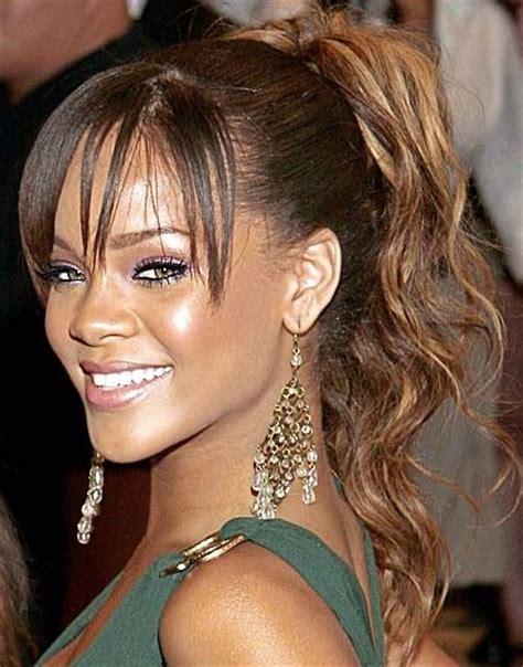 rihanna long hairstyles 2012 popular haircuts
