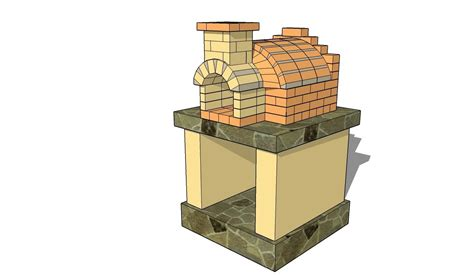 backyard brick oven plans free pizza oven plans youtube