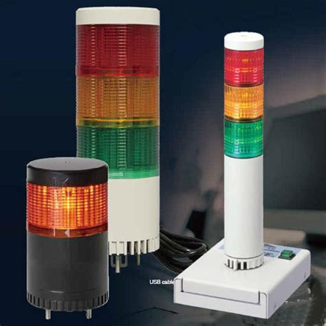 Stack Light by Patlite Signal Light Towers Led Stack Lights Andon Led