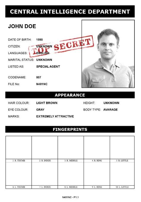 Effect Spy Dossier Photofunia Free Photo Effects And Online Photo Editor Fbi Dossier Template