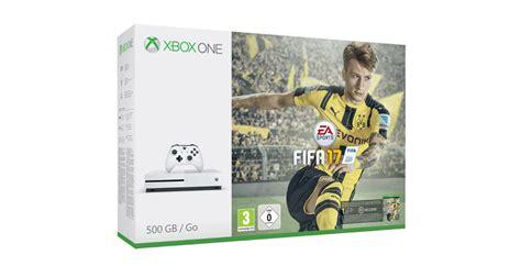 fifa console fifa 17 xbox one s console bundle announced