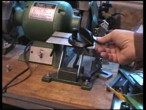 how to sharpen tools on a bench grinder basic wood lathe lathe tool sharpening jig