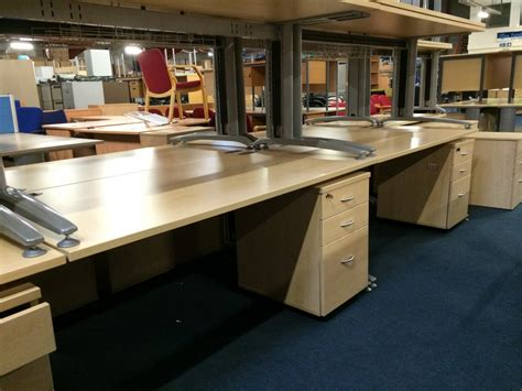 Used Office Desks In Maple 2 11 15 Office Furniture Centre Office Desks Used