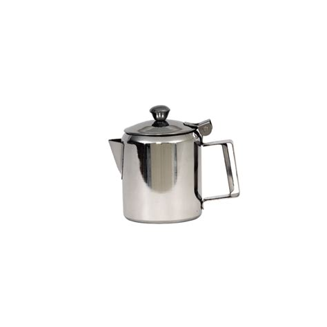 Coffe Pot 1200ml Potabelo genware stainless steel mirror coffee pot 1000ml 32oz crosbys