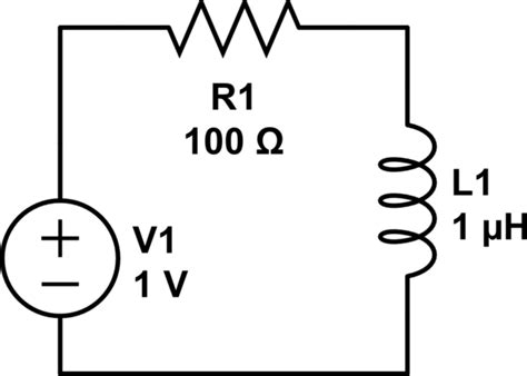 inductors in rl circuits gt circuits gt inductor cutting an rl circuit l26017 next gr