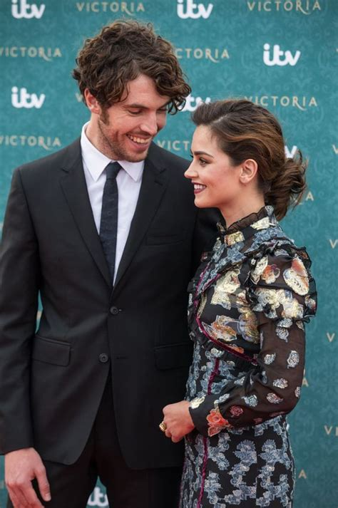 tom hughes and jenna coleman victoria lovely photo of tom hughes albert and jenna coleman