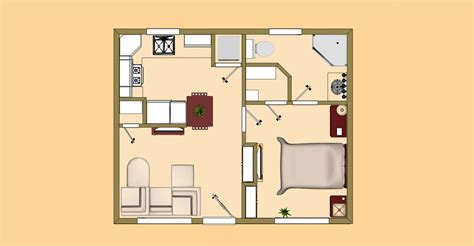 500 square foot house plans the new ricochet small house floor plan under 500 sq ft