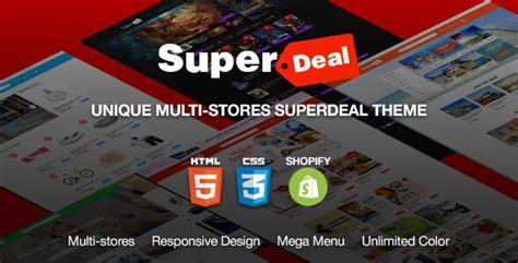 shopify themes warez superdeal multipurpose responsive ecommerce shopify
