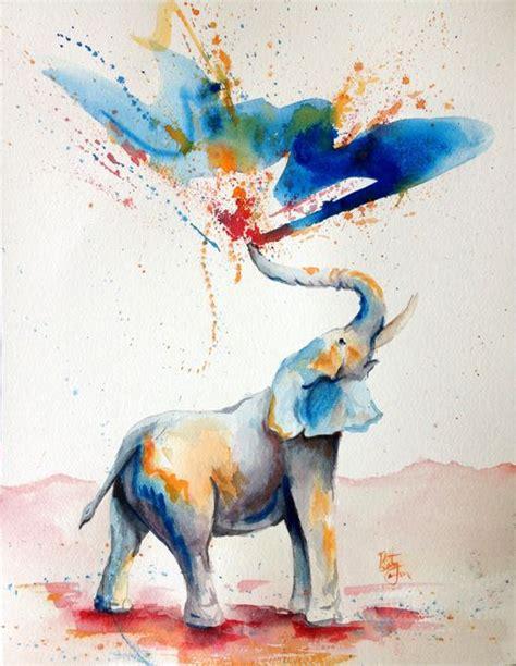 watercolor elephant tutorial bethany cannon art studios watercolor watercolor