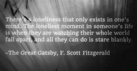 eternal themes in the great gatsby their whole world is falling apart love and loss