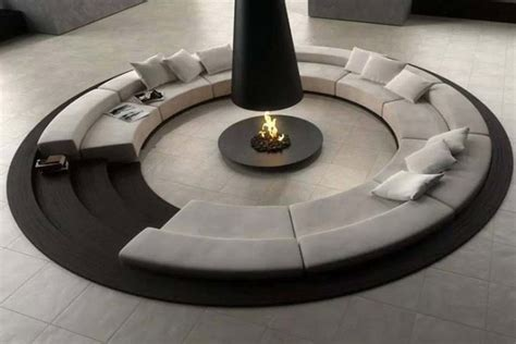 Outdoor fire pit chimney hood fireplace design ideas