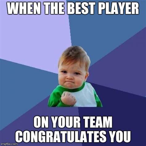 Player Memes - success kid meme imgflip