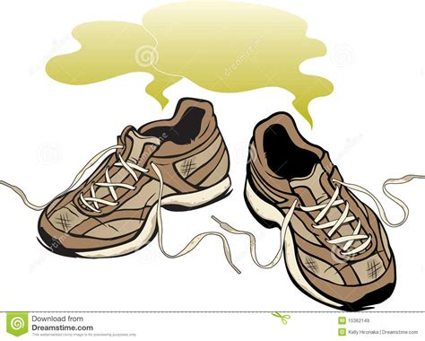 stinky shoes smelly sneakers royalty free stock images image 15362149