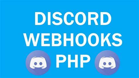 Discord Youtube Webhook   how to setup use discord webhooks php youtube
