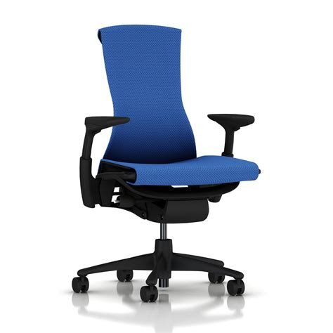 Balance Chair Base by Herman Miller Embody Chair Berry Blue Balance With