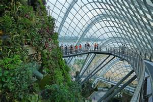 Indoorgardens File Cloud Forest Gardens By The Bay Singapore