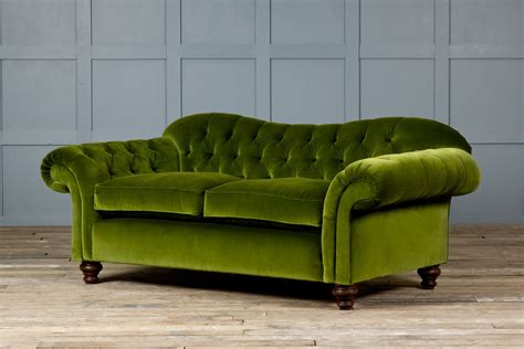 bessie velvet fabric chesterfield sofa
