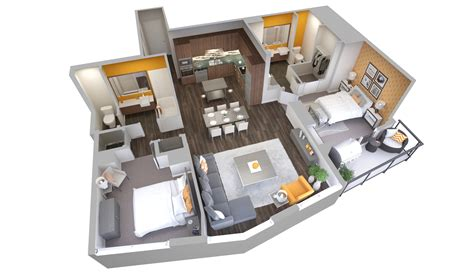doll house 901 3613 2 bedrooms and 1 bath the house doll house floor plans