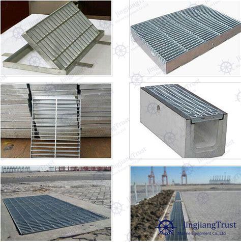 Floor Drain Tekan Nk china galvanized steel grating floor trench drain grating