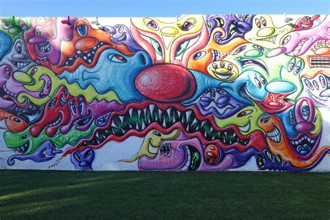 kenny scharf  wynwood street art graffiti blog