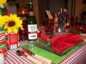 the posh pixie italian table setting