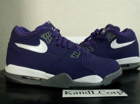 Nike Airflagh For Premium Termurah 03 nike air flight 89 hoh club purple white cool grey black sole collector