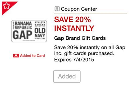 Can You Use Gap Gift Card At Old Navy - safeway gap giftcards at 20 off or 5 off 25 doctor of credit