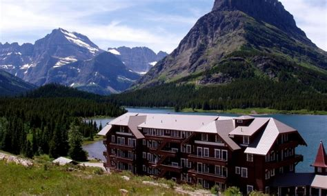many glacier hotel lodge glacier national park alltrips
