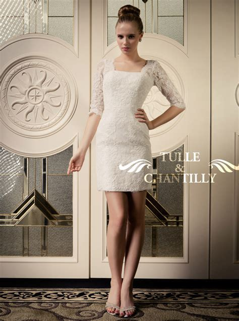 Choosing Casual Short Bridal Wedding Dresses 2013 to Rock