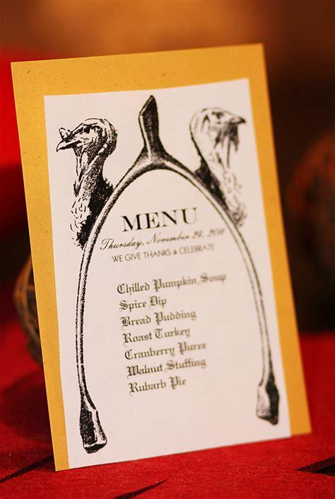 6 Best Images Of Free Printable Thanksgiving Menu Design