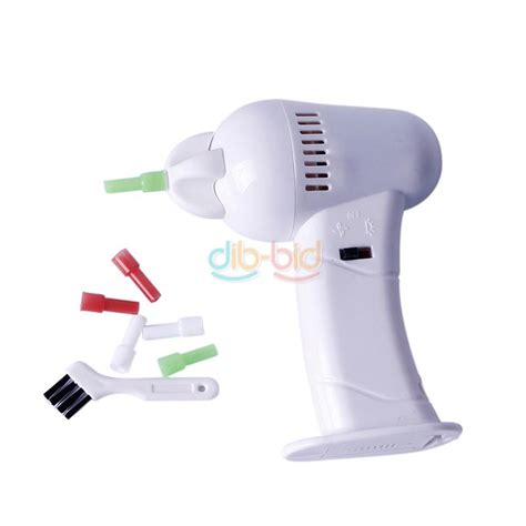 vacuum ear cleaner led painless safety electric vac vacuum ear cleaner