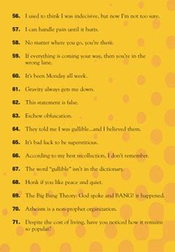 worlds funniest  liners tracts