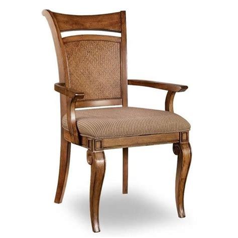 Cherry Dining Chair Furniture Windward Raffiaarm Dining Chair In Light Brown Cherry 1125 76400