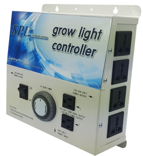 Grow Light Controller by Spl Horticulture Grow Light Controller System 8plug With