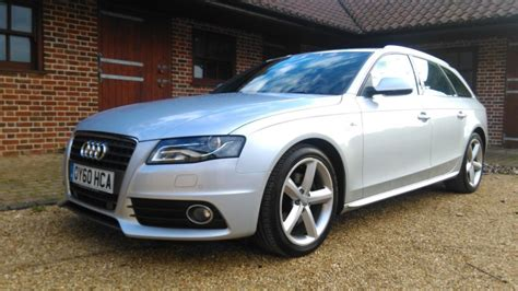 Audi A4 Avant Sale by Used Silver Audi A4 Avant For Sale Cambridgeshire