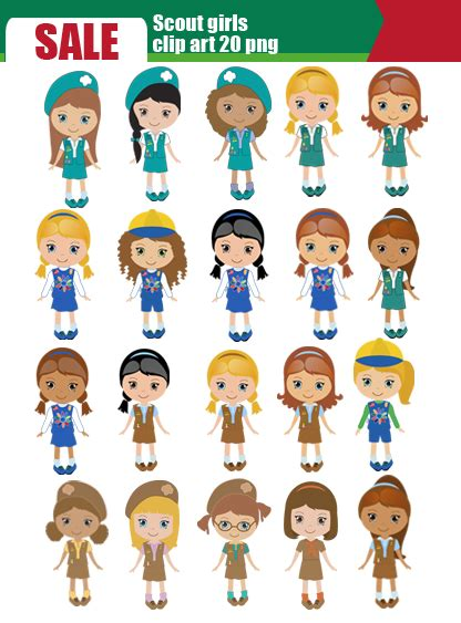 Scout Brownie Clip by Scout Brownie Clipart Clipart Suggest