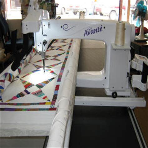 Avante Quilting Machine For Sale by Sewing Quilting Machines Country Fabrics N Things