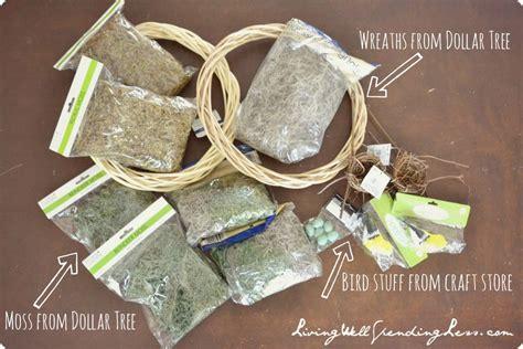 diy dollar tree crafts dollar tree moss wreath living well spending less 174