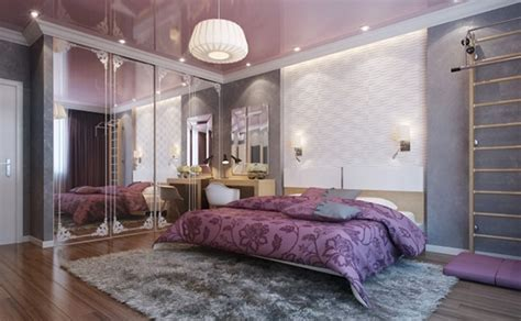 sentuhan glamor desain kamar tidur mewah rancangan