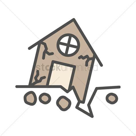 earthquake vector earthquake cartoon house www pixshark com images