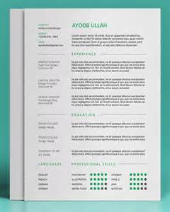 resume template editable 20 free editable cv resume templates for ps ai