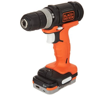 black decker ladegerät 12v black decker 12v cordless drill with gopak battery