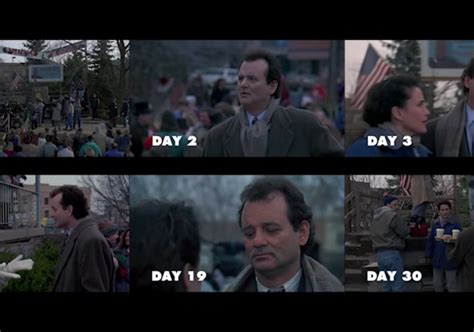 groundhog day vs scrooged bill murray sharp magazine