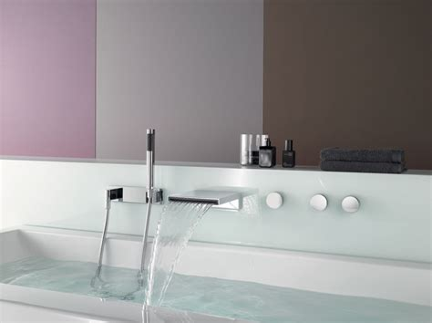 rubinetti vasca da bagno bagnoidea rubinetteria a parete per vasca da bagno a