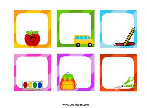 clipart gratis scuola etichette per la scuola gratis tuttodisegni